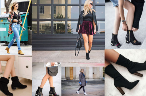 Ankle boots fashion