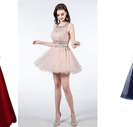 prom dresses for slender bodies