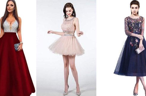 prom dresses for slender bodies