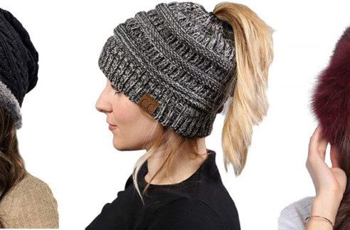 winter hats and beenies