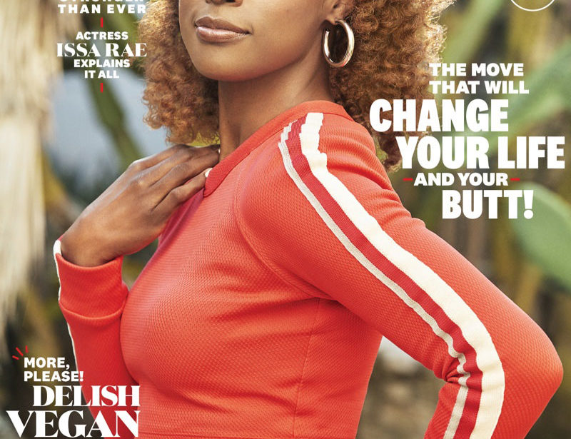 Actress Issa Rae on Women's Health April 2019 Cover