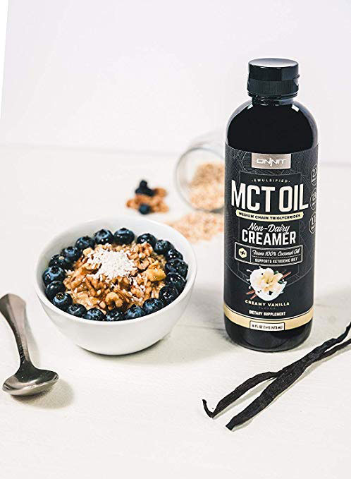 Onnit Emulsified MCT Oil with oatmeal