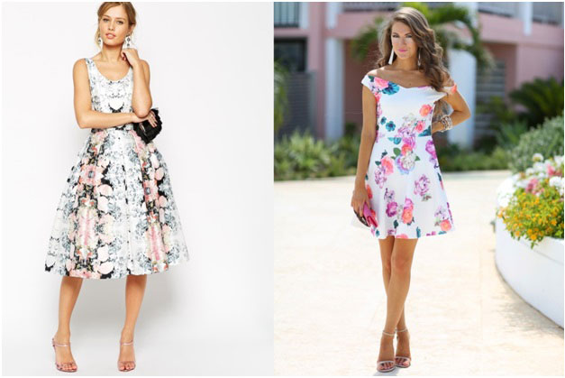 Floral Patterned Dress