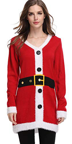 For G and PL Women's Christmas Funny Pullover Sweater