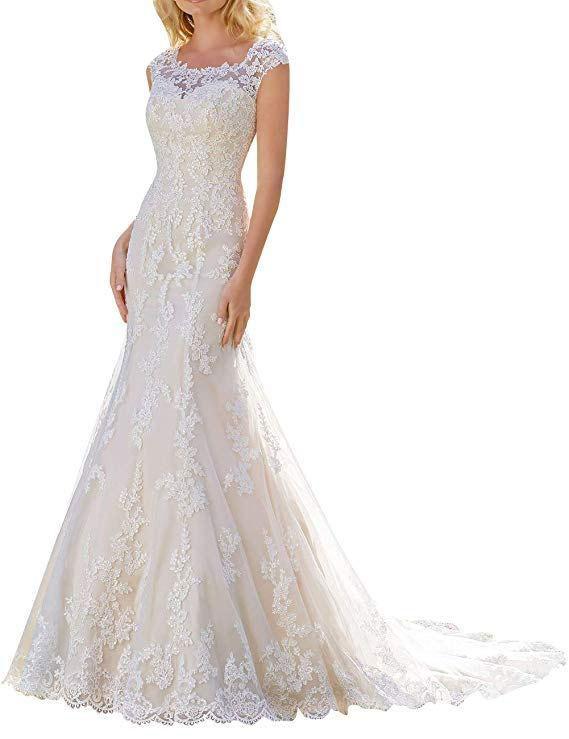 Mermaid Lace Bridal Dress