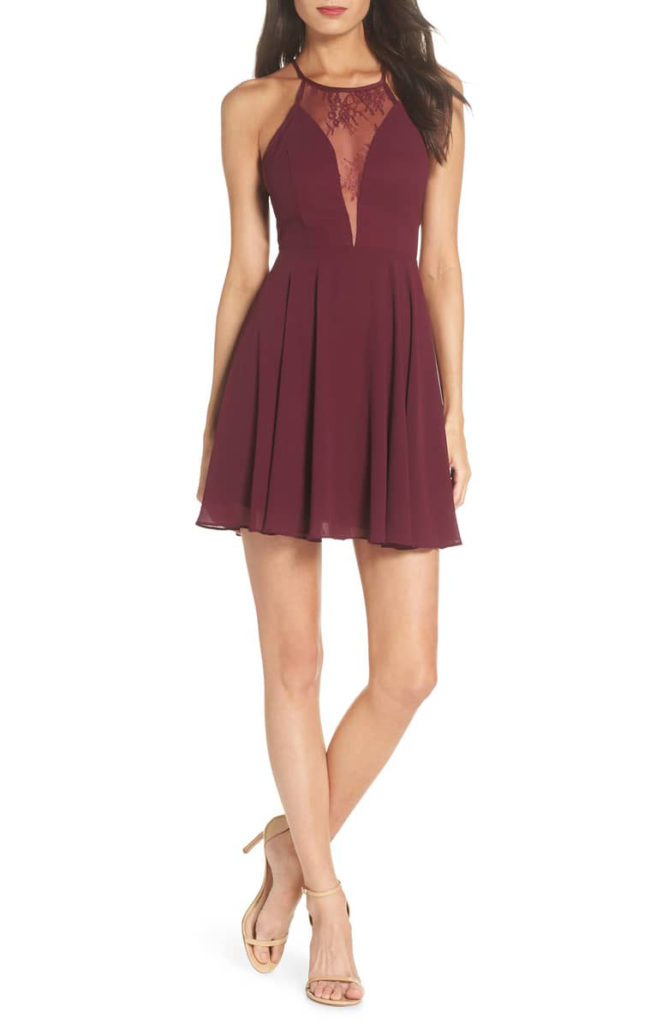 LULUS Halter Neck dress