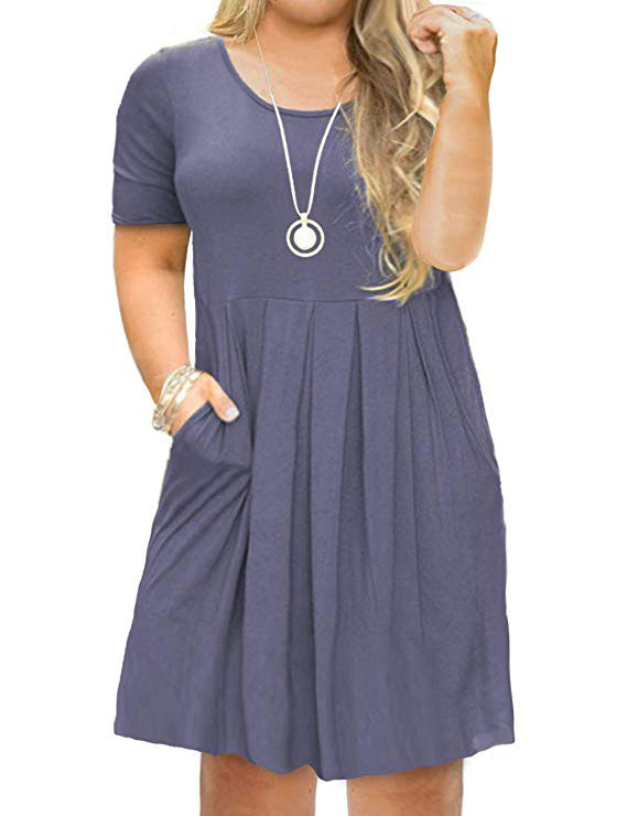 Plus size Swing Loose dress