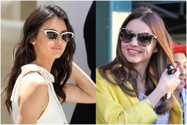 models wearing a glasses