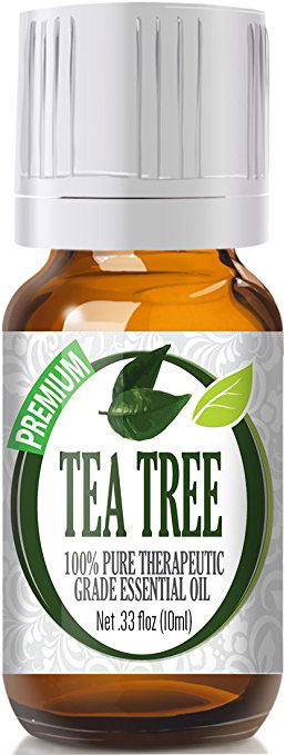 Tea Tree Essential Oil 100% Pure Therapeutic Grade Tea Tree Oil for Diffuser and Topical – Natural Antifungal Antibacterial Benefits Face Skin Hair