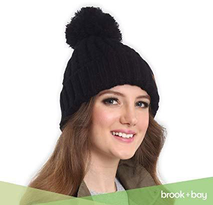 Thick, Soft & Chunky Cable Knit Beanie Hat