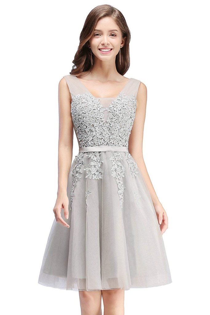 Tulle Lace Formal Dress