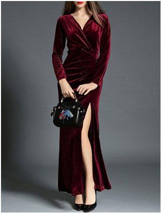 prom dress for boxy shaped women