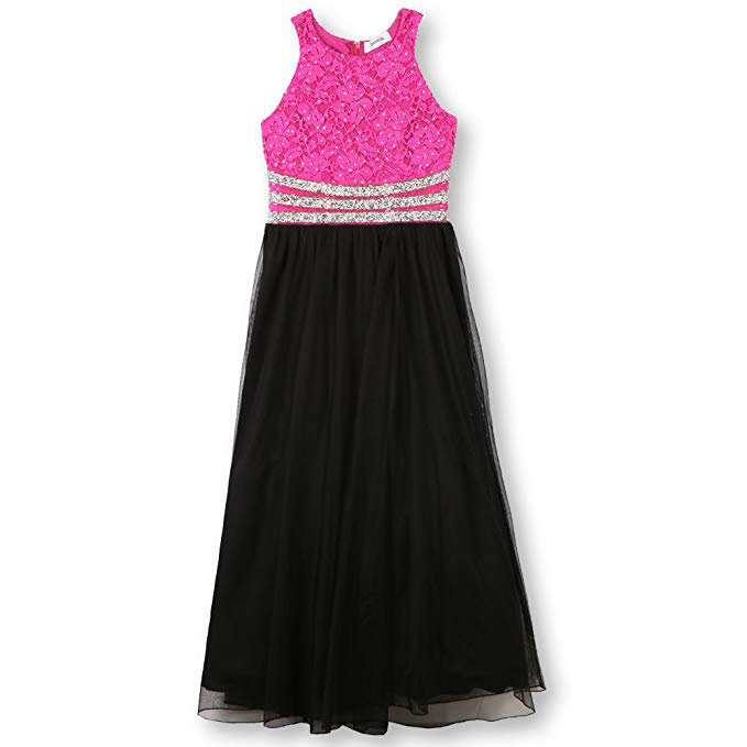 embellished maxi dress for baby girl