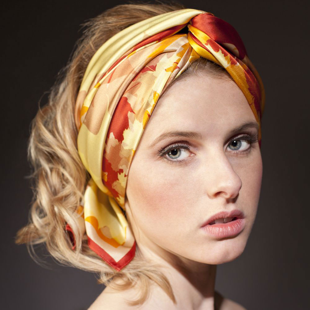 head knot scarf