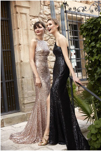 prom dresses for hourglass shaped women