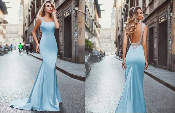 slender body type prom dress