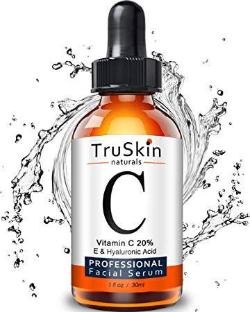 TruSkin Naturals Vitamin C Serum for Face, Organic Anti-Aging