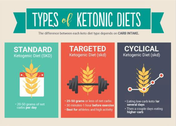 types of ketonic diets