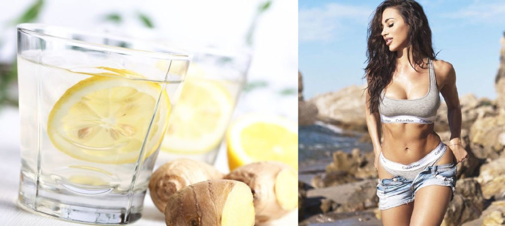 benefits of drinking hot water with lemon and ginger