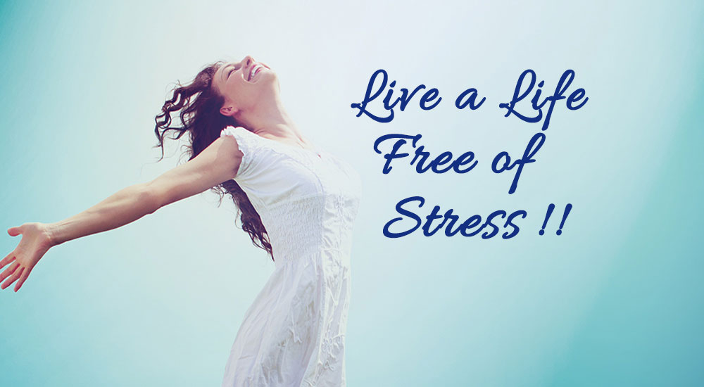 live a life free of stress