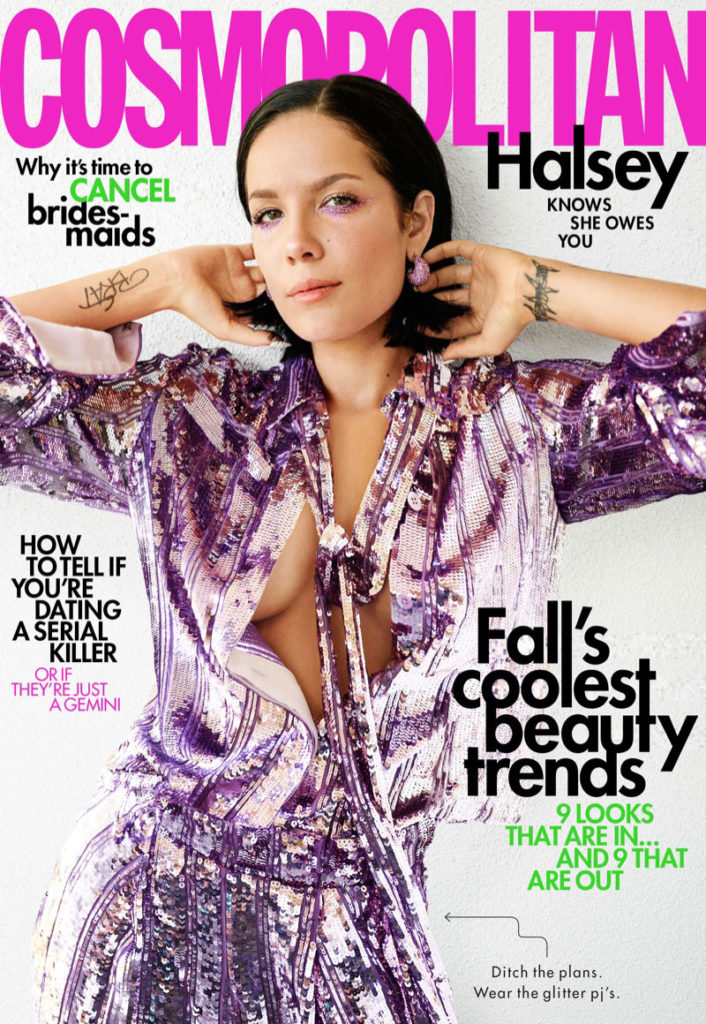 Halsey by Peggy Sirota for Cosmopolitan Magazine