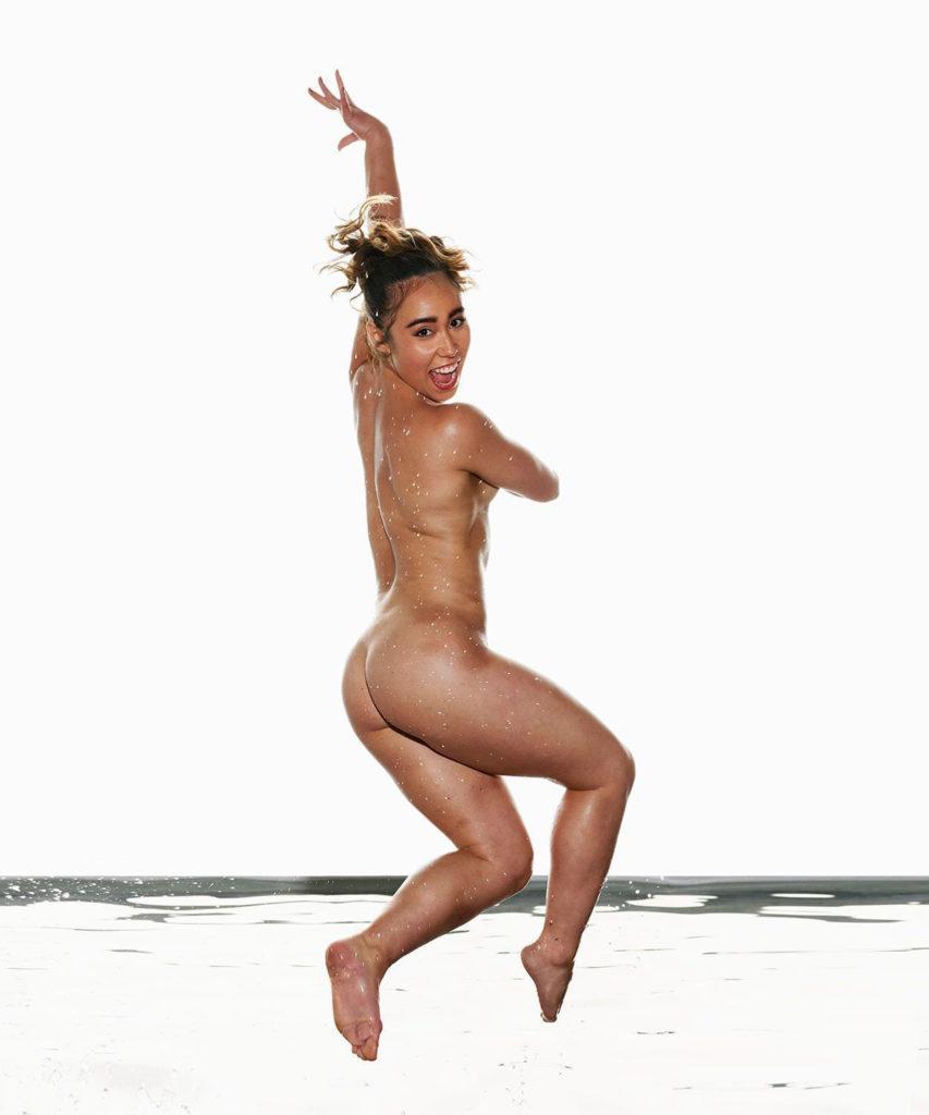 Katelyn Ohashi jumping