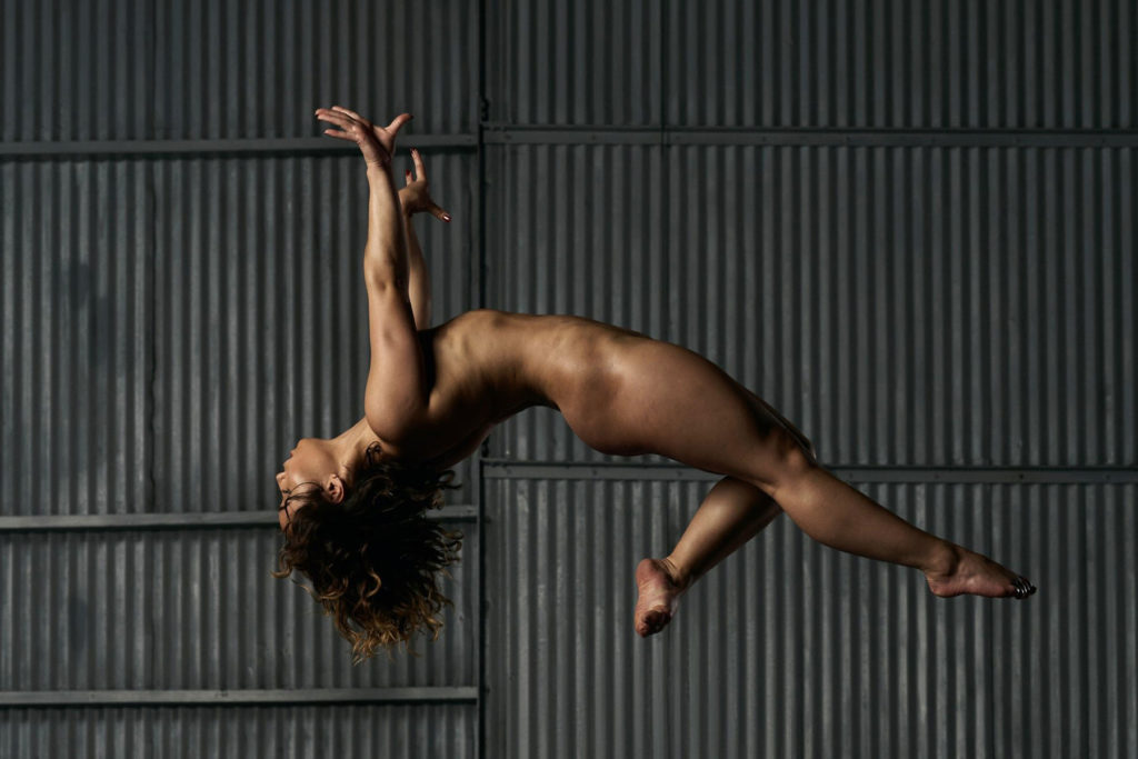 Katelyn Ohashi performing