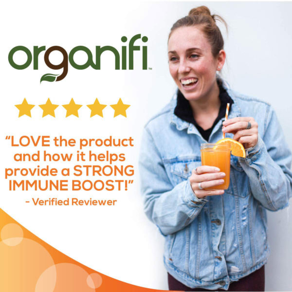 Love the product and how it helps provide a strong immune boost.""