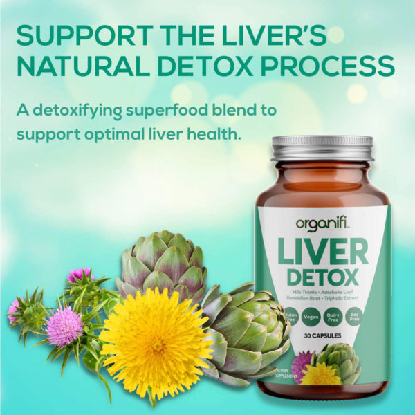Support the liver's natural detox process