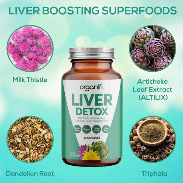 Liver boosting superfoods