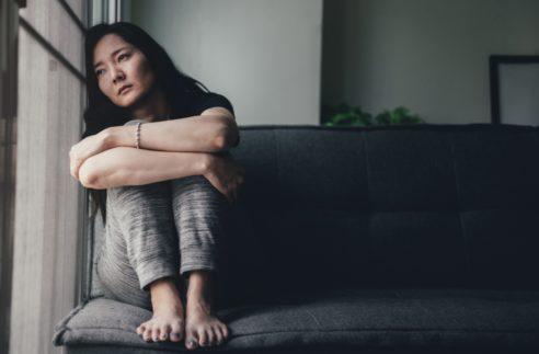 Panic Attacks Young Girl Sad Fear