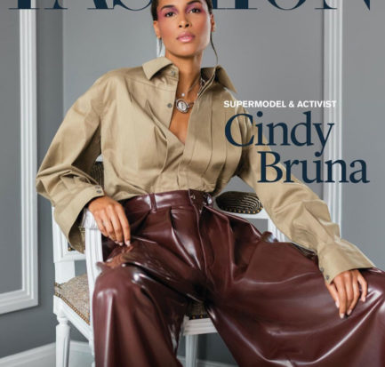 Cindy Bruna for FASHION Magazine cover