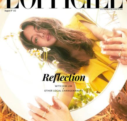 Kim Lim by Joel Low for L'Officiel Singalpore August 2020