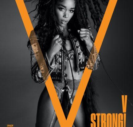Laura Herrier by Inez & Vinoodh for V Magazine