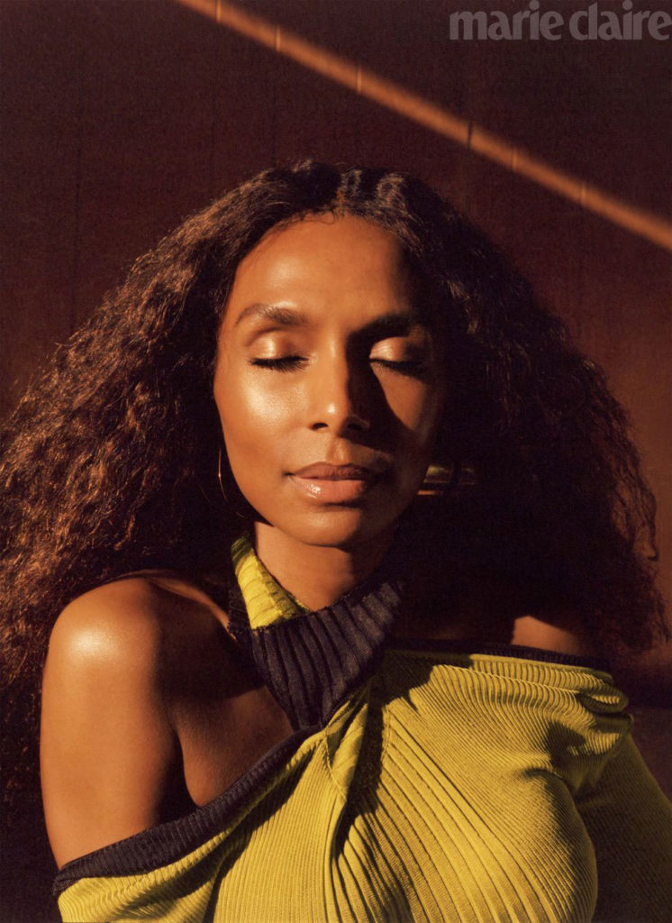 Janet Mock by Luke Gilford for Marie Claire August 2020