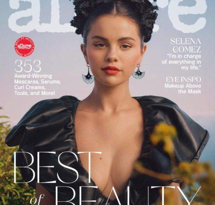Selena Gomez Allure cover