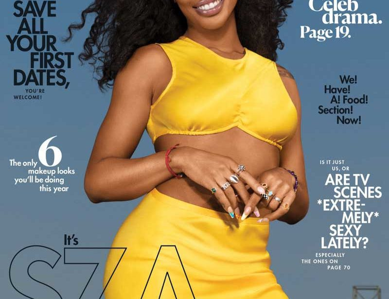 SZA by Djeneba Aduayom for Cosmopolitan
