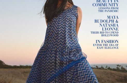 Awkwafina by Ryan McGinley for Harper's Bazaar US