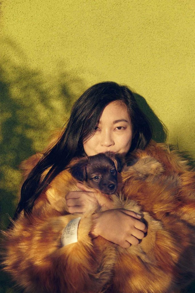 Awkwafina by Ryan McGinley for Harper's Bazaar US