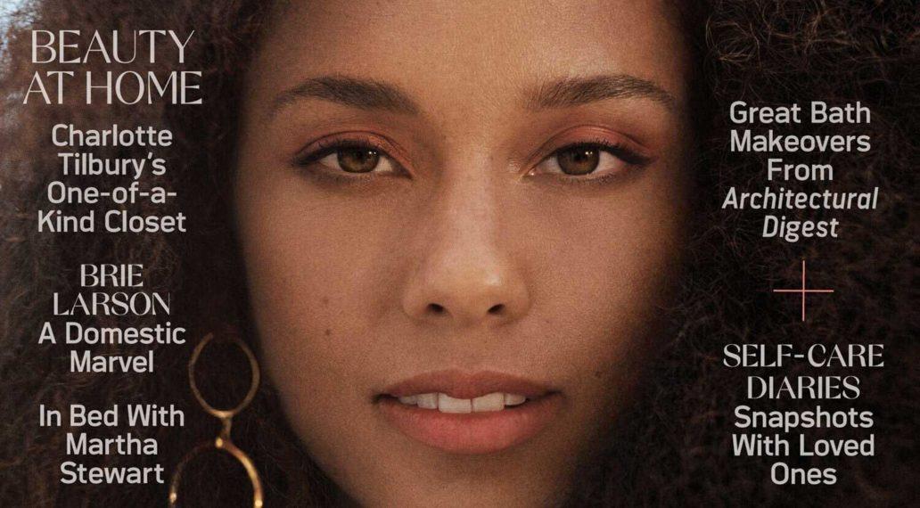 Alicia Keys by Daria Kobayashi Ritch for Allure US April 2021